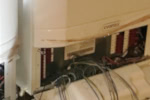 Commercial boiler - electrical wiring.