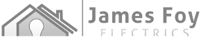 James Foy Electrics Logo Greyscaled